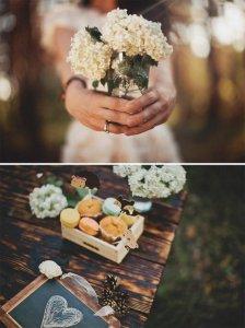 оформление свадебной фотосессии цветами
