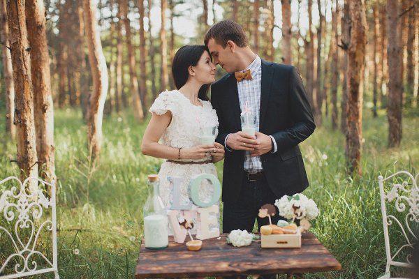 свадьба весной в стиле рустик и шебби шик