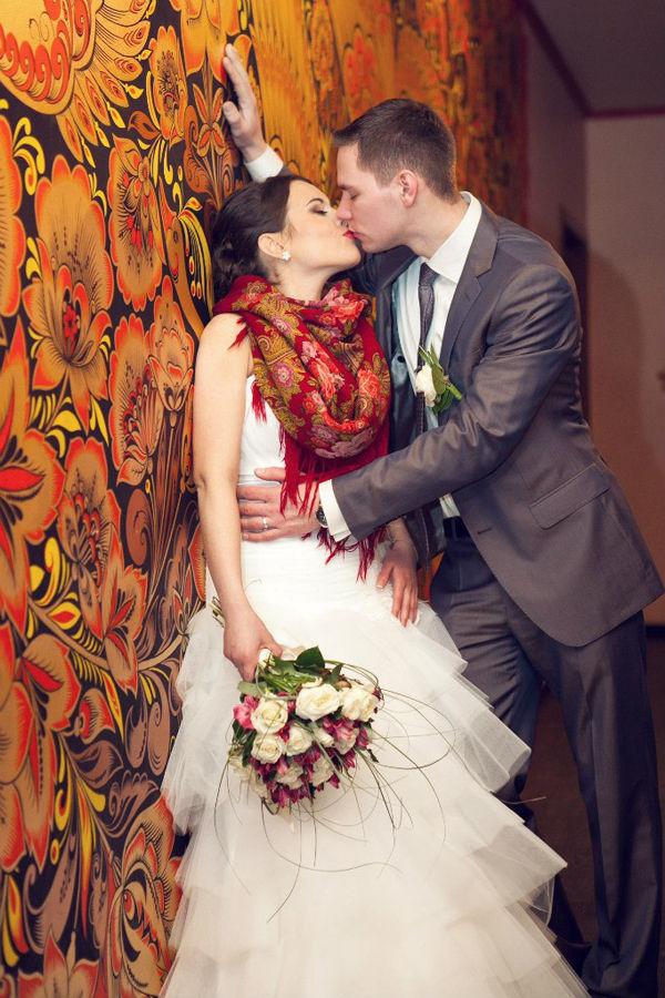свадебная фотосессия в русском народном стиле