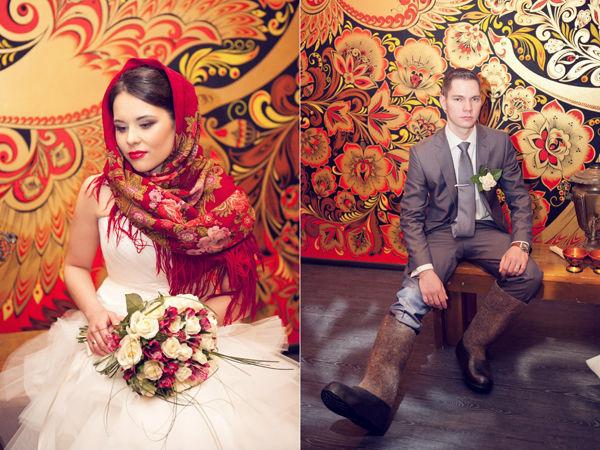 образ невесты и жениха русских стиль