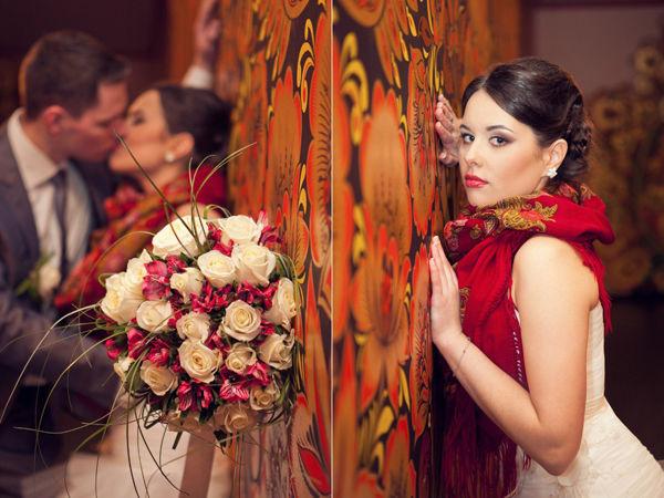 свадебная фотосессия хохлома