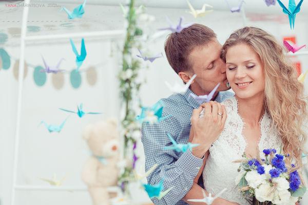свадьба в цвете Тиффани