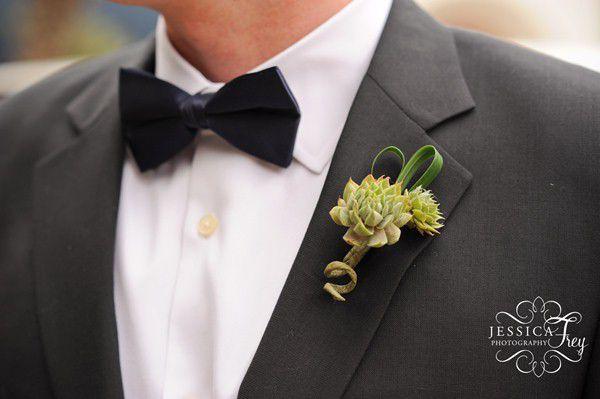 оригинальные свадебные бутоньерки