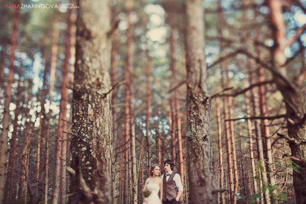 рустик свадебная фотосессия