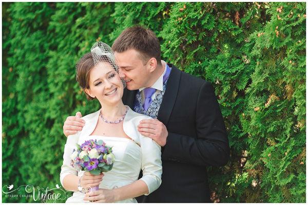 образ жениха и невесты на свадьбе во французском стиле