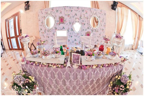 оформление свадьбы в стиле прованс