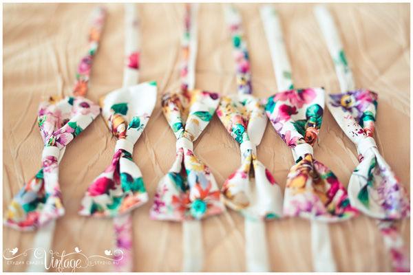 бабочки для друзей жениха