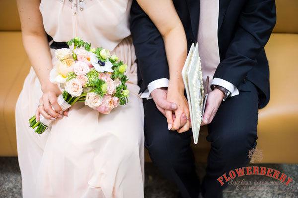 персиковый цвет  свадьбы