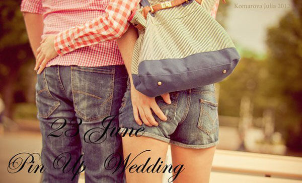 свадьба в стиле пин ап
