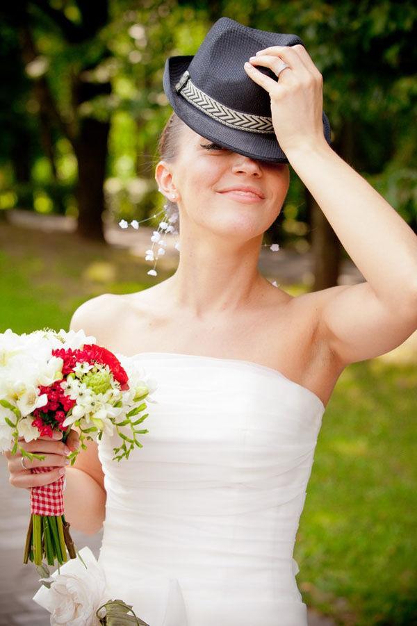 образ невесты пин ап