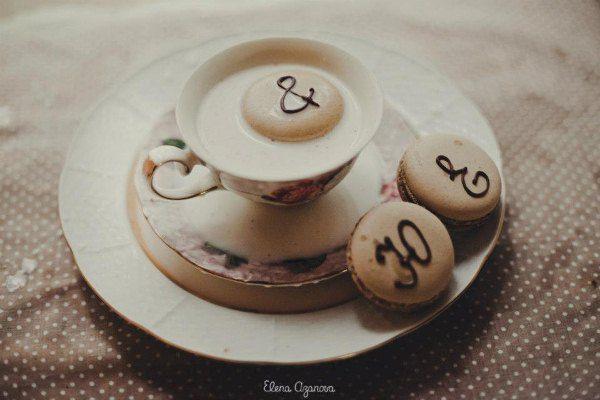 свадебные идеи с макарунами