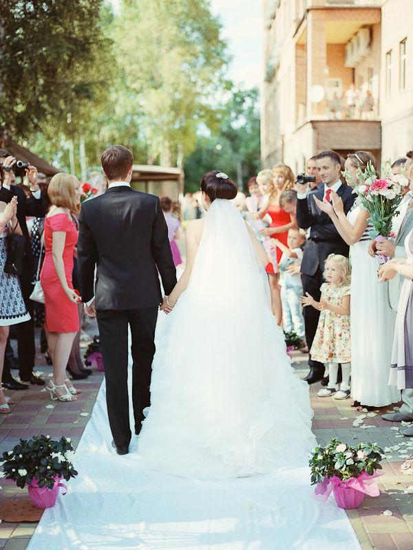 свадебные летние фотографии