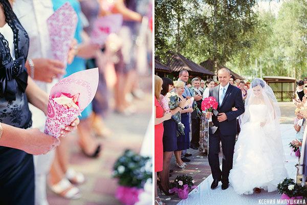 летняя свадьба шебби шик