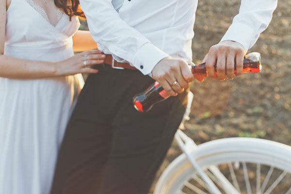 свадебная фотосессия ранней осенью
