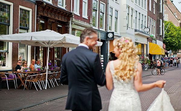 свадебная прогулка в Голандии