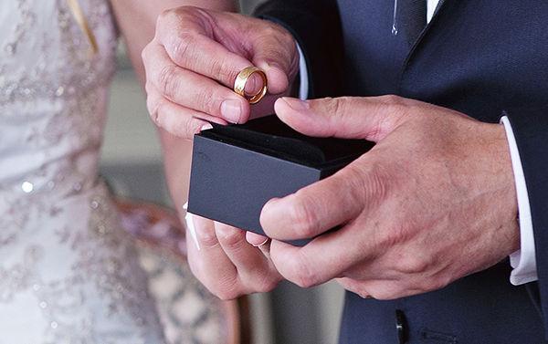 колечки на свадьбе