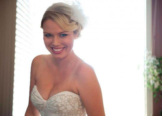 образ невесты с фатой