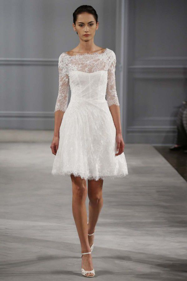 свадебные платья Monique Lhuillier 2014