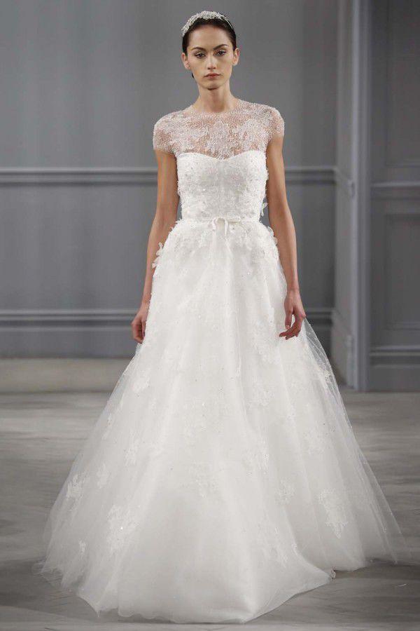 дизайнерские свадебные платья Monique Lhuillier