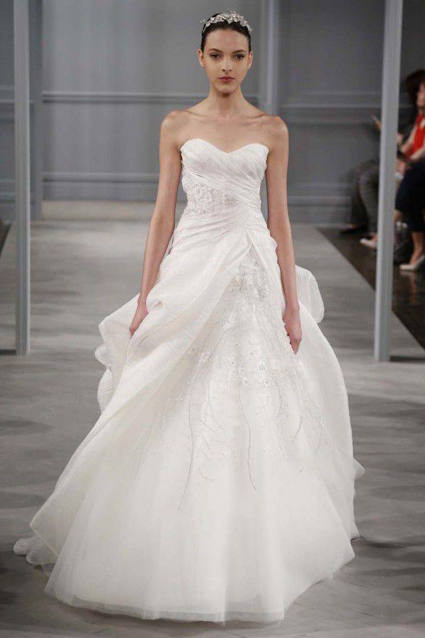 свадебные платья коллекция Monique Lhuillier