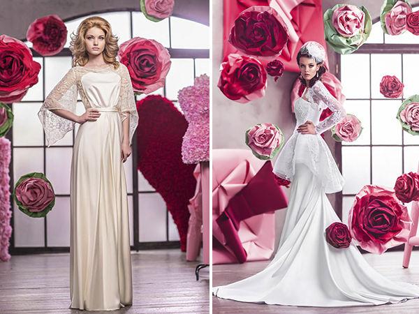 свадебные платья от российского дизайнера