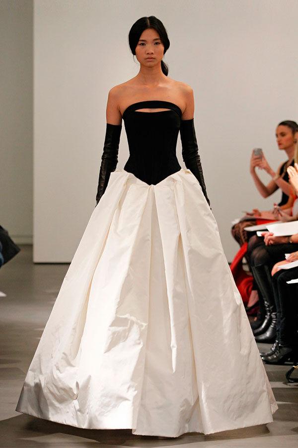 коллекция свадебных платьев vera wang