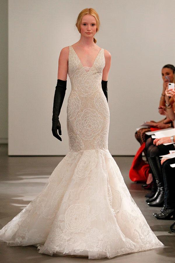 свадебные платья русалка кружевное
