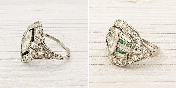 обручальные кольца винтаж
