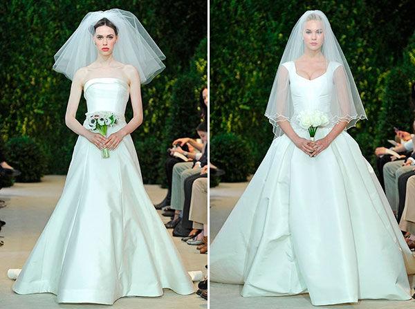 carolina herrera свадебные платья 2014