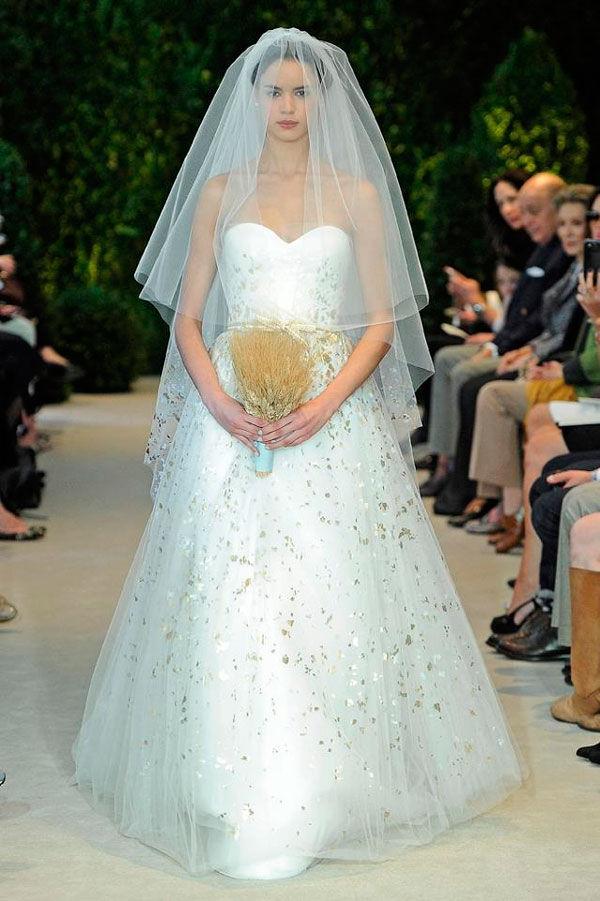 carolina herrera свадебные платья