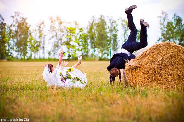 креативные свадебные фотосессии