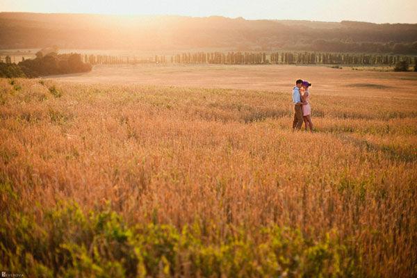 фотосессия на природе летом