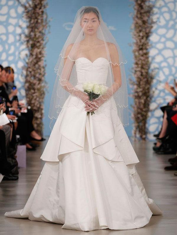 oscar de la renta свадебные платья