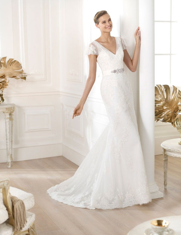 pronovias свадебные платья 2014