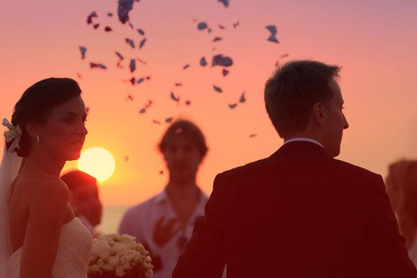свадебные фотографии на море