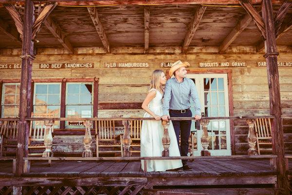 ковбойская свадьба фото