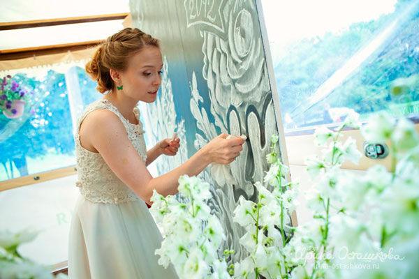 оформление свадьбы своими руками фото