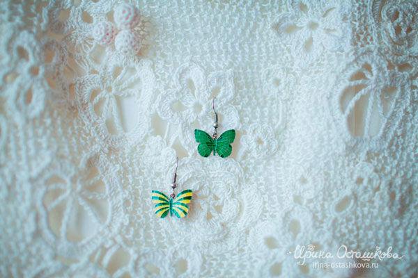 сережки невесты
