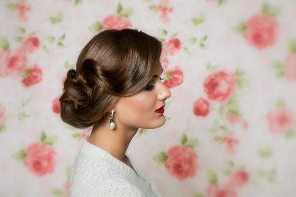прическа невесты длинные волосы