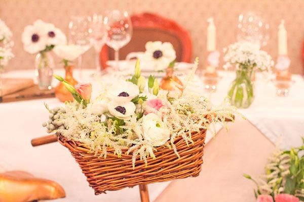 декор свадьбы цветами