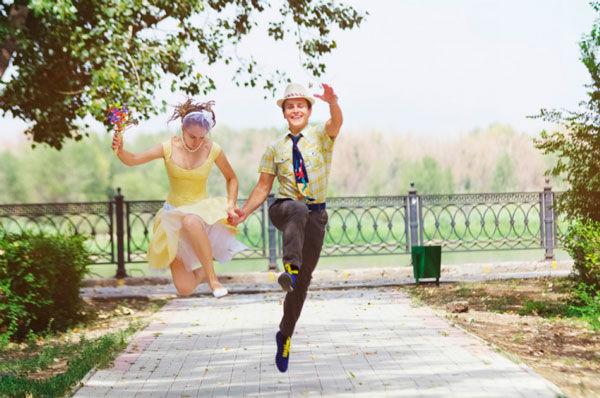 тематические свадьбы фото