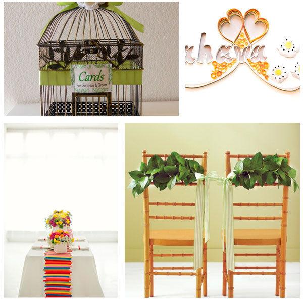 идеи оформление летней свадьбы