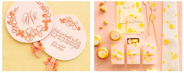 оформление свадьбы в желтом цвете