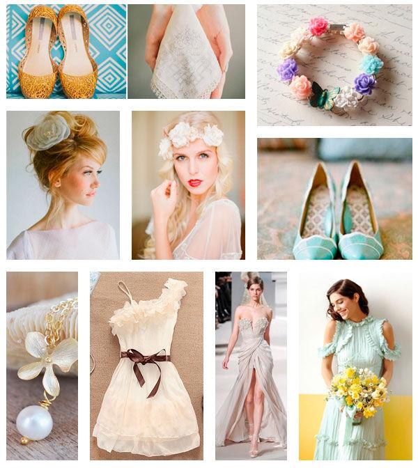 свадебная мода лето 2013