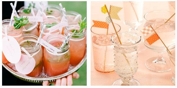 коктейли на свадьбе