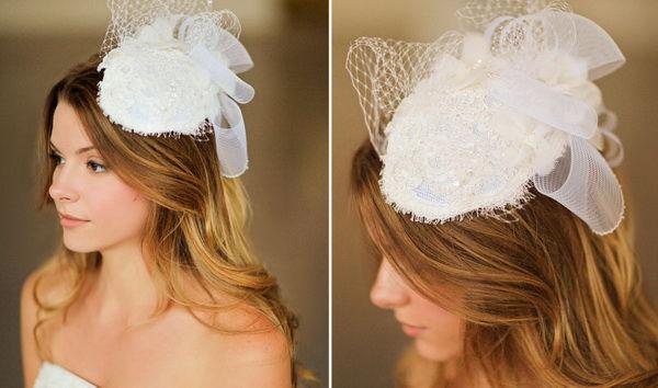 свадебные украшения на голову невесты