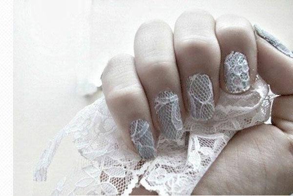 красивый маникюр свадебный