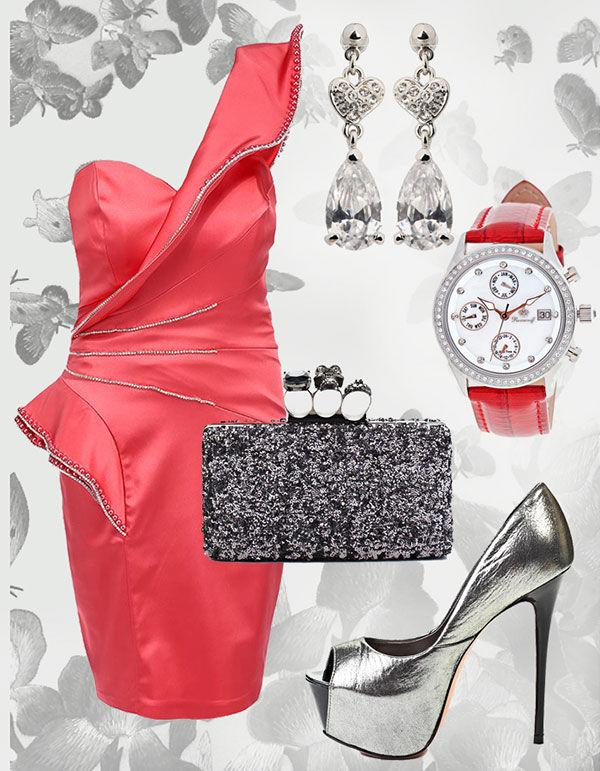розовые платья для подружек невесты