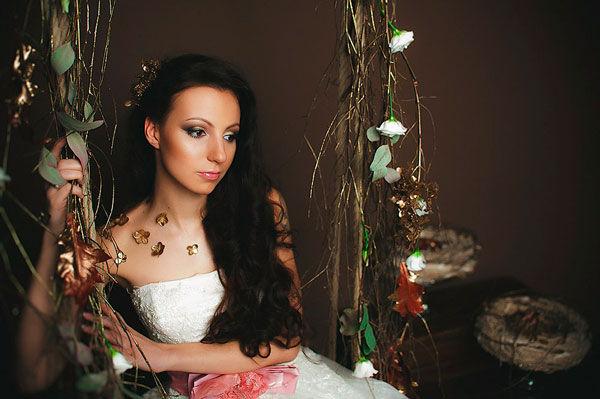 свадебный образ невесты фото