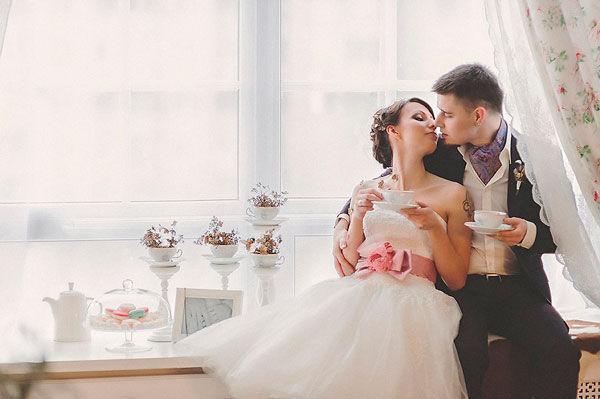 свадьба в стиле винтаж